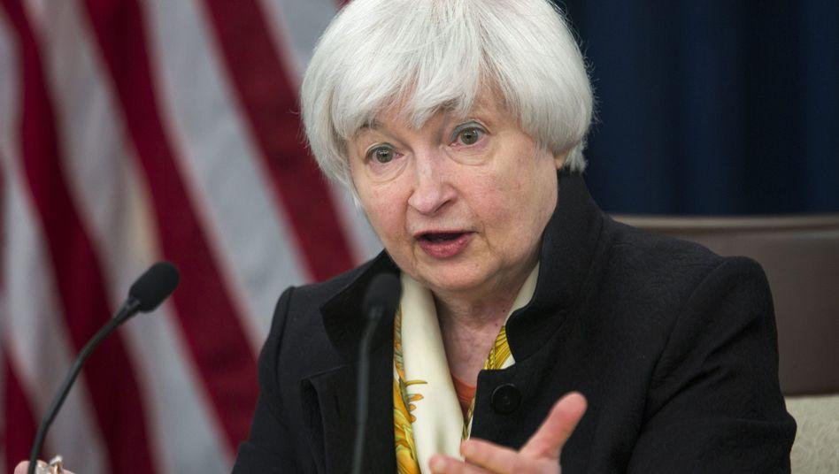 Fed-Chefin Janet Yellen, hier eine Aufnahme aus dem Juni 2016.