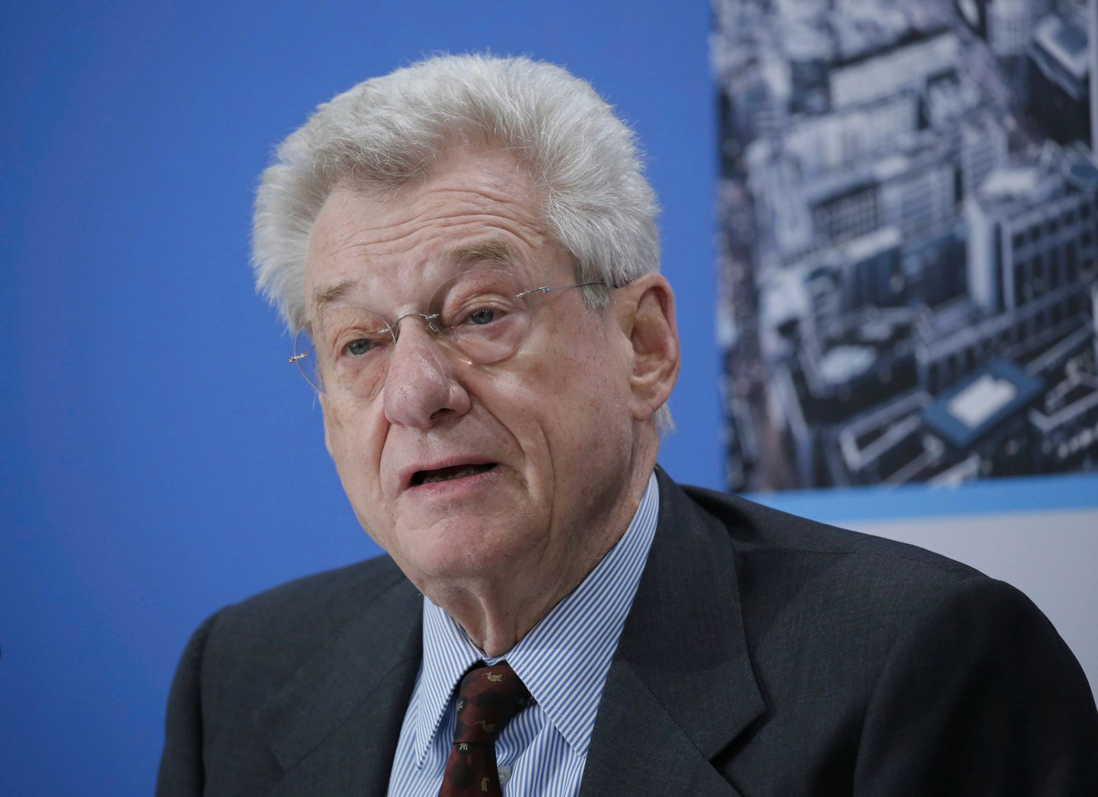 Heinrich Weiss Eigentümer des weltgrößten Stahlwerkbauers SMS Group Deutschland Berlin Presseko