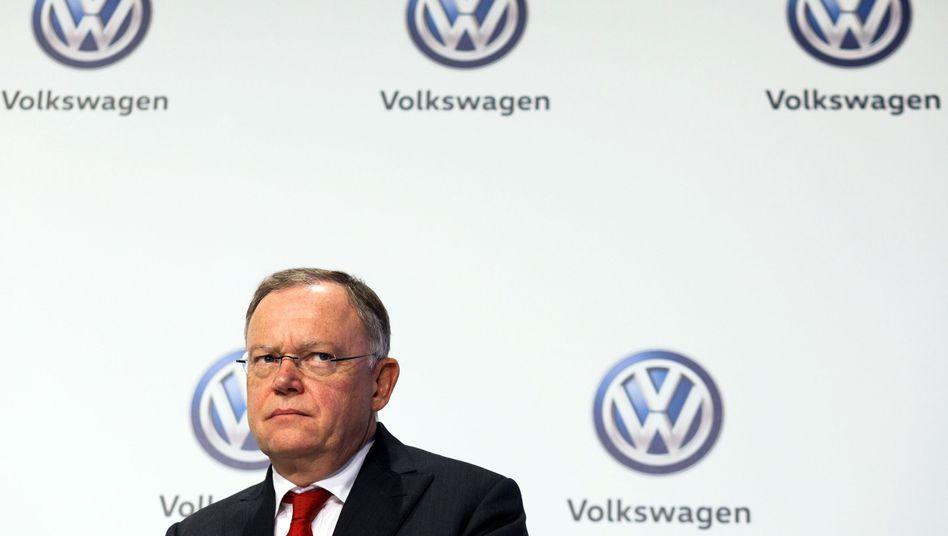 Stephan Weil (SPD): Der Regierungschef von Niedersachsen sitzt im VW-Aufsichtsrat - und erwartet nun einen Geldsegen für die Landeskasse