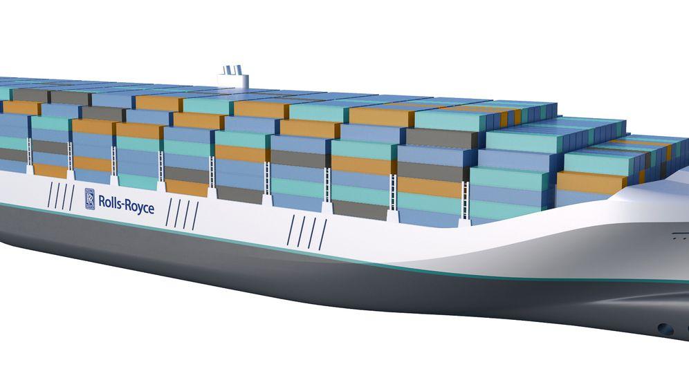 Moderne Geisterschiffe: So stellt sich Rolls-Royce die Zukunft der Seefahrt vor