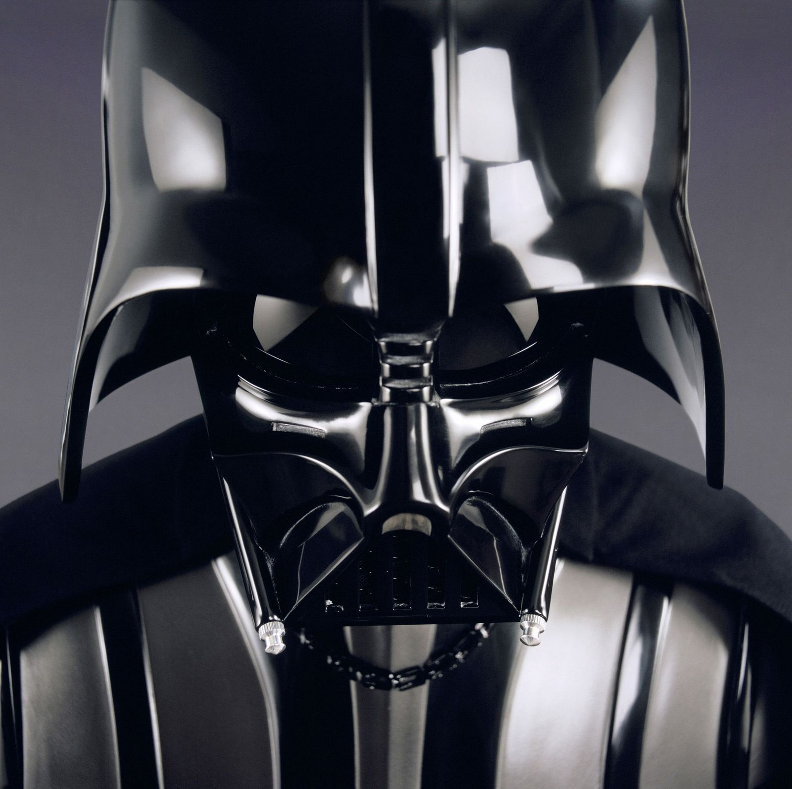 Darth Vader costume in portrait from Star Wars Episode III Revenge of the Sith