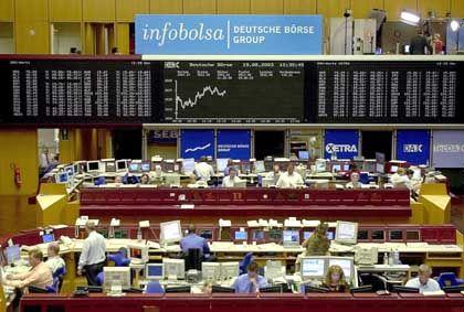 Börse in Frankfurt Hoffen auf Intel, Philips und EADS