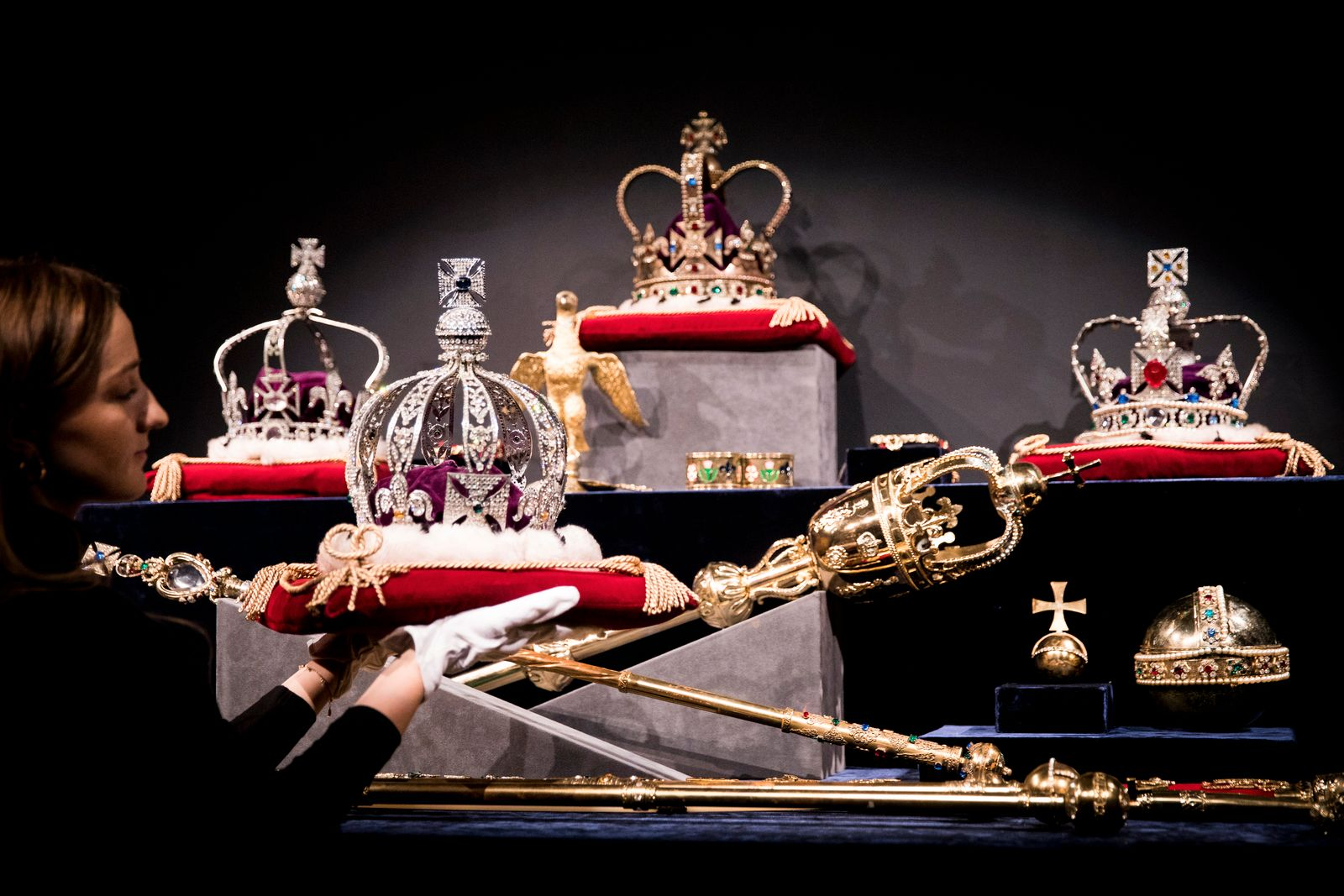 British Crown Jewels / Kronjuwelen England