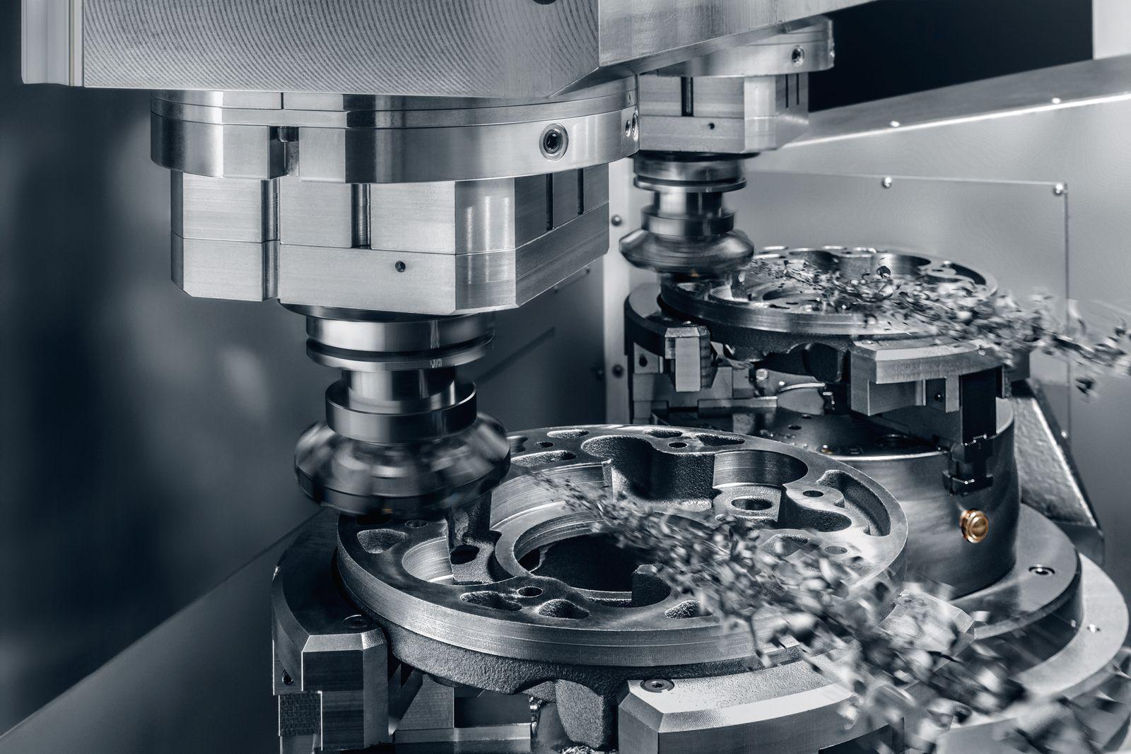 Stama Maschinenfabrik / hochdynamische Schwerzerspanung