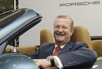 Löste eine alte Debatte neu aus: Für seine Erfolge bei Porsche soll Vorstand Wendelin Wiedeking rund 60 Millionen Euro bekommen