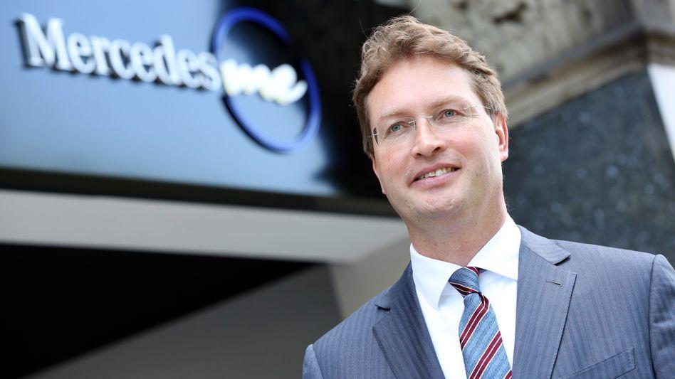 Ola Källenius, löst im Mai 2019 Dieter Zetsche als Daimler-Vorstandschef ab