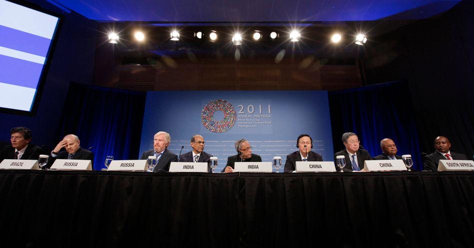 Tribunal gegen Europa: Pressekonferenz der BRICS-Staaten in Washington