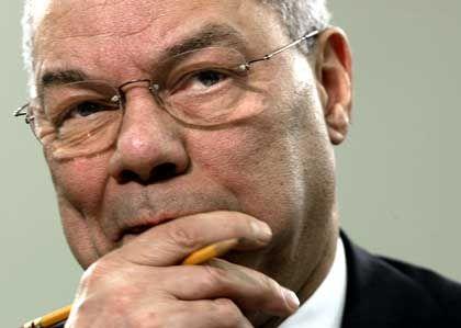 """""""Eine vitale, aber keine zentrale Rolle"""": US-Außenminister Powell"""