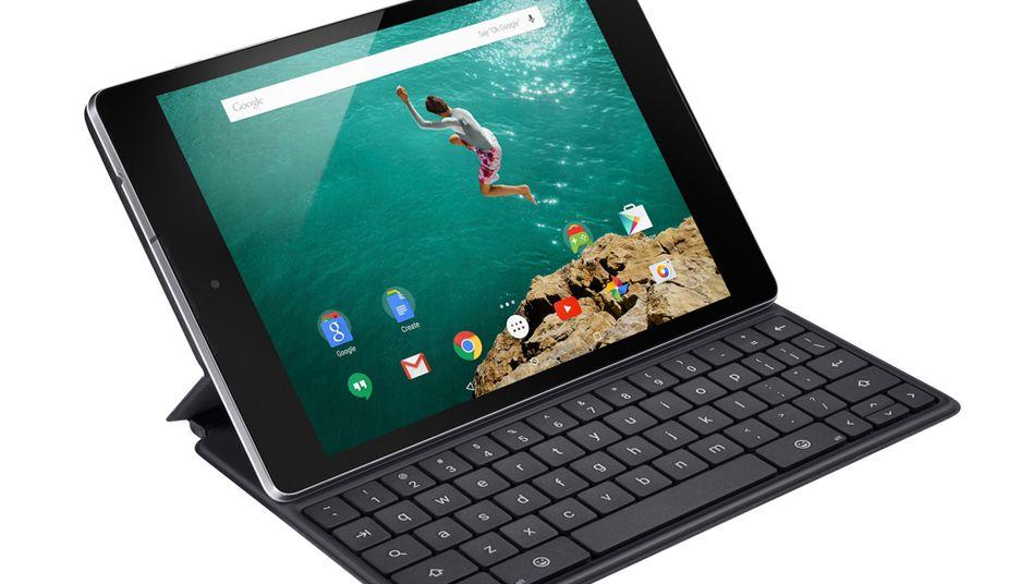 Entwickelt mit HTC: Googles neues Nexus-9-Tablet