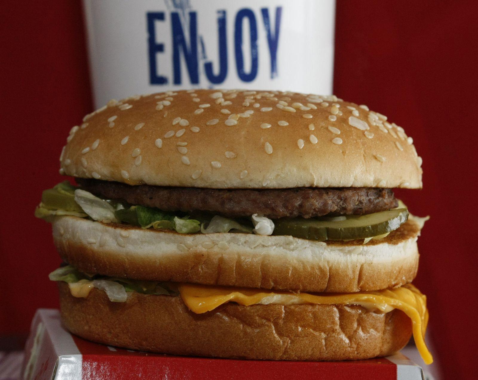 Earns McDonalds/ Big Mac