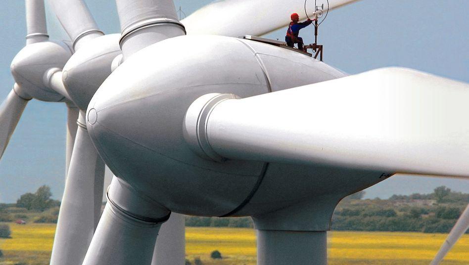 Windkraftanlage: 89 Turbinen sollen in dem neuen Windpark in der Nordsee Strom erzeugen