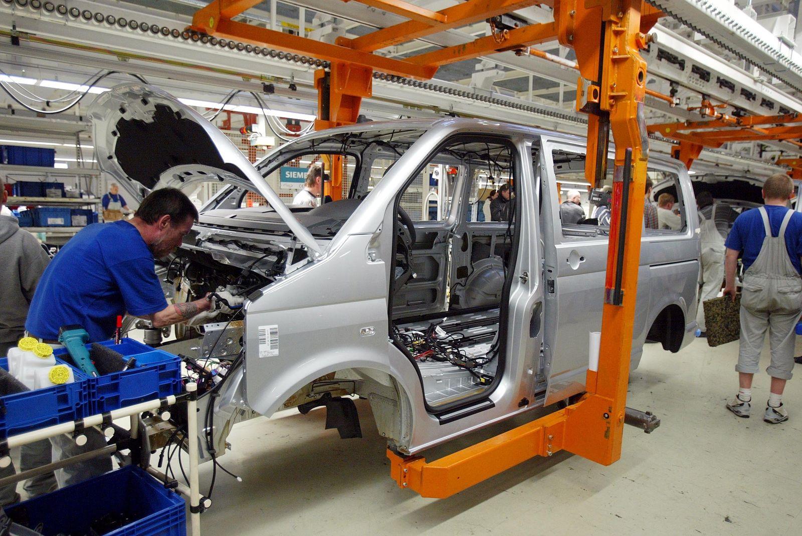NICHT VERWENDEN Produktion Volkswagen Multivan T5