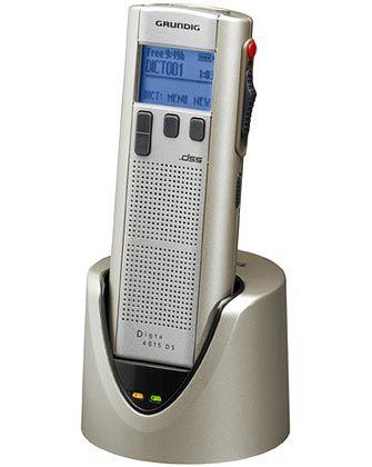 Spracharchiv: Das Diktiergerät Digta 4015 DS Premium von Grundig