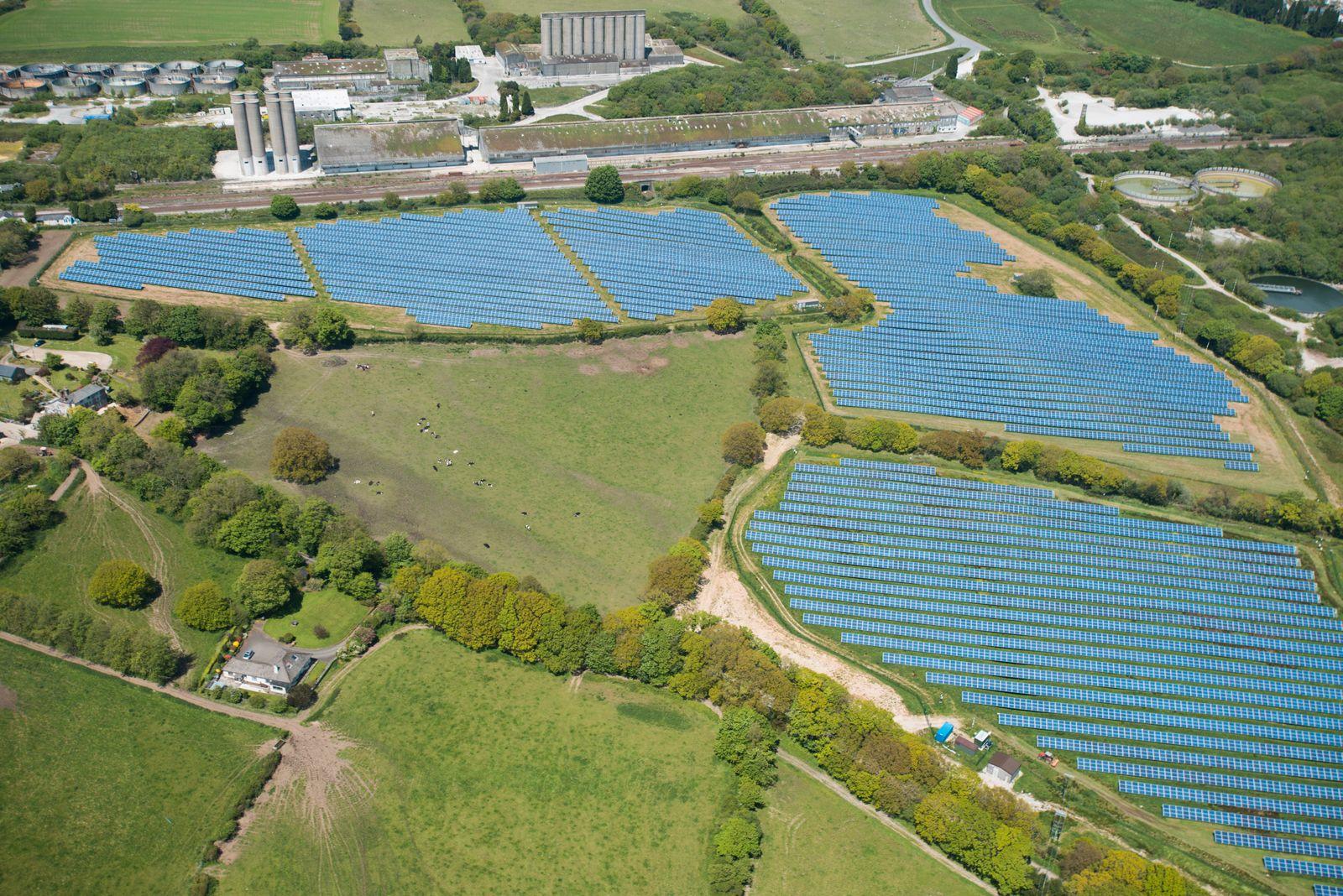 NICHT MEHR VERWENDEN! - Solaranlage in Cornwall, England