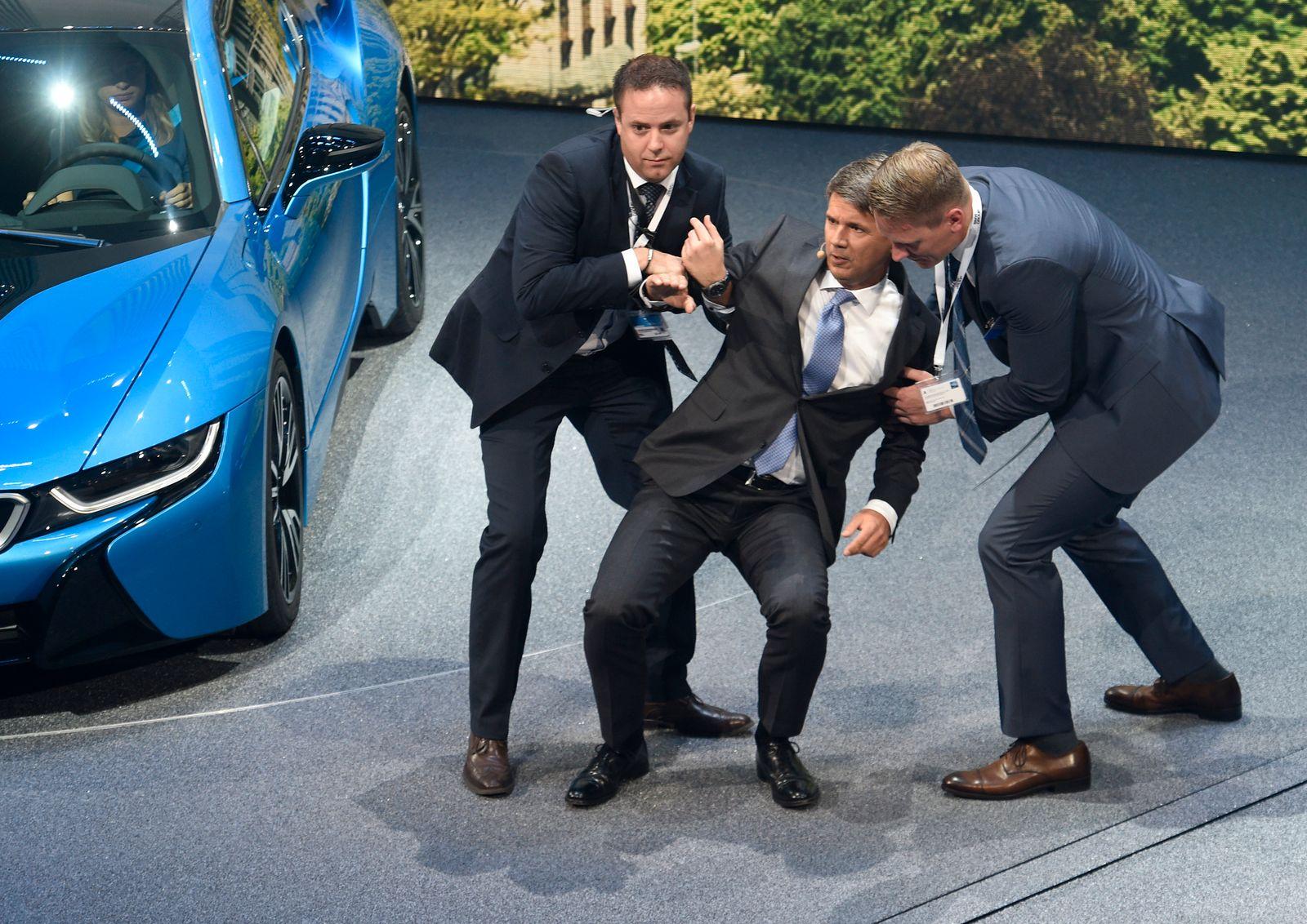 Krüger BMW; Zusammenbruch