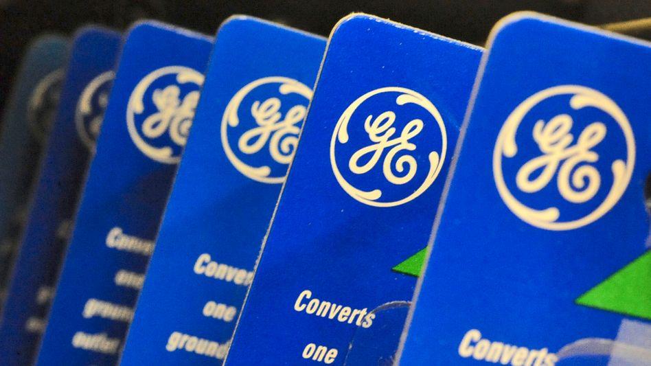 Logo mit Tradition: General Electric gehörte zu den namhaftesten Konzernen der USA, hat jedoch einen Abstieg hinter sich