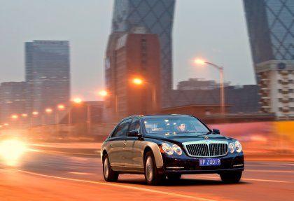 Begehrtes Prestigeobjekt: Maybach auf der Auto China