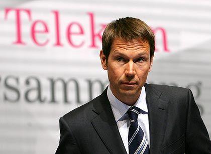 Verzichtet auf zwei Monatsgehälter: Telekom-Chef René Obermann