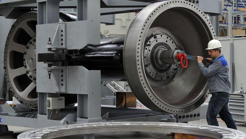 Maschinenbauer bei Voith Turbo: Ingenieure werden in Deutschland sehr gut ausgebildet, doch die Anforderungen ändern sich schnell