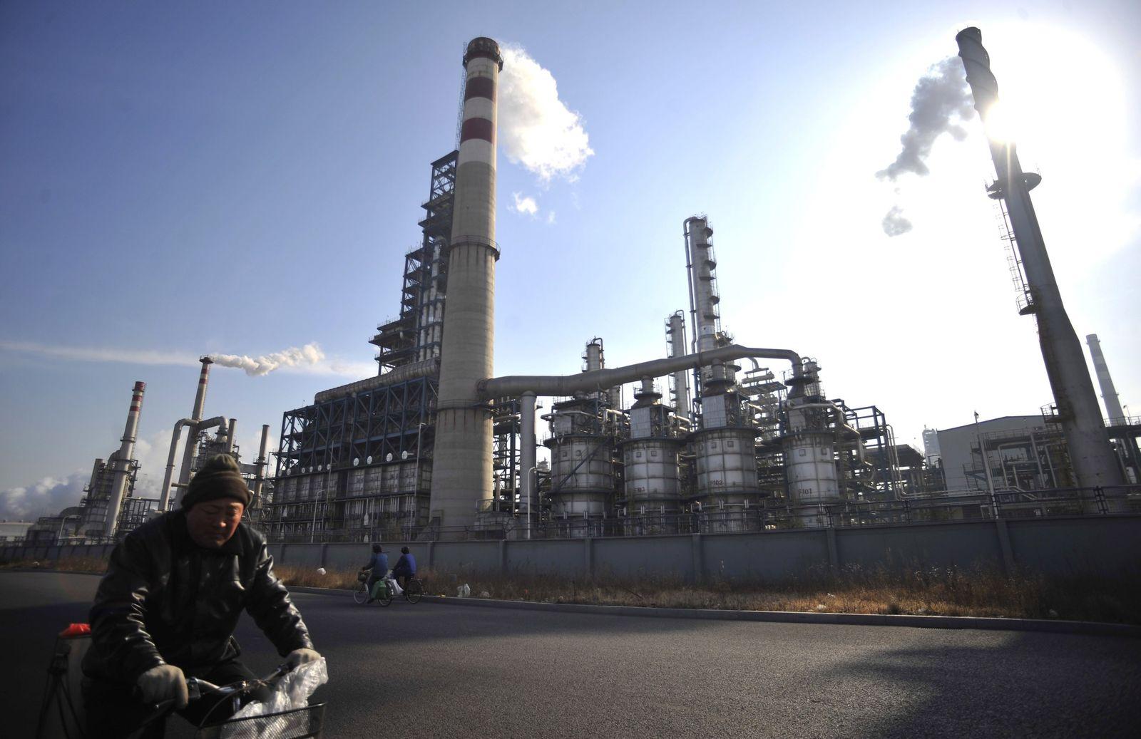 China / Öl / Raffinerie / Sinopec