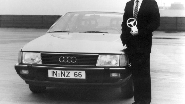 Schleudersitz Audi-Entwicklungschef: Audi - Absprung durch Technik