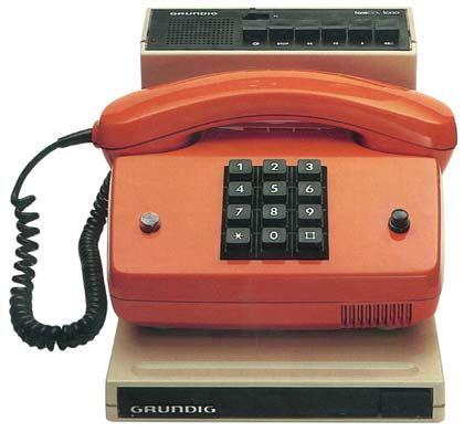 1983 noch Telefonbeantworter genannt: Der Teleboy 1000 für den Privatmann.