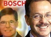 Wachwechsel: Bosch-Chef Hermann Scholl (l.) macht Platz für Franz Fehrenbach, bleibt aber am Drücker