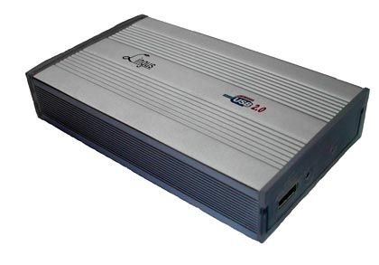 Selbstversorger: Diese Festplatte zieht den Strom über die USB-Verbindung direkt vom Computer