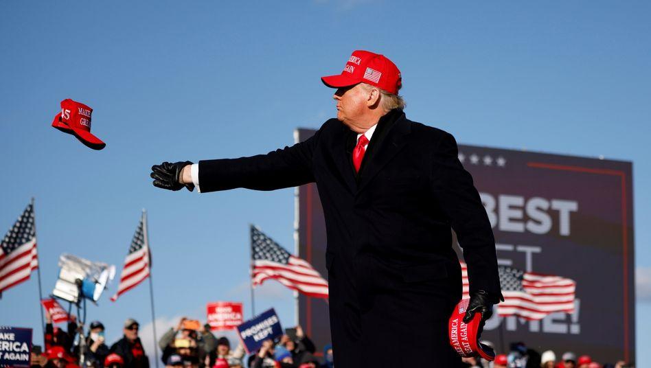 Kreditwürdig: Bankkunde Donald Trump im Schlussspurt seines Präsidentschaftswahlkampfs
