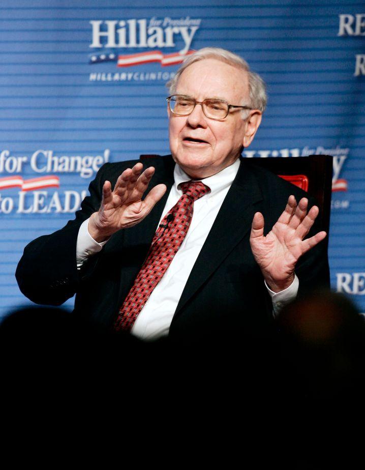 Investmentguru und Multimilliardär Buffett: Was ist wahrer Reichtum?