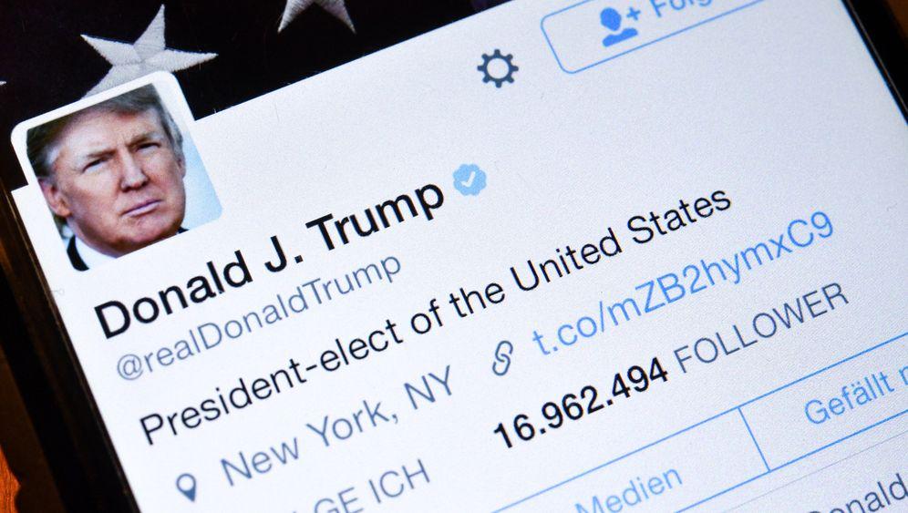 3mal täglich, gerne gegen Medien: So beleidigt Donald Trump via Twitter