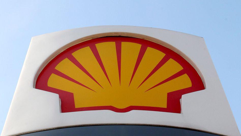 Shell-Tankstelle in London
