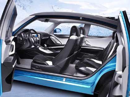 Türen wie im Saloon: Das Auto hat keine B-Säule, die Türen öffnen also den Innenraum auf seiner gesamten Länge. Die Serienchance einer solchen Lösung ist jedoch sehr unwahrscheinlich