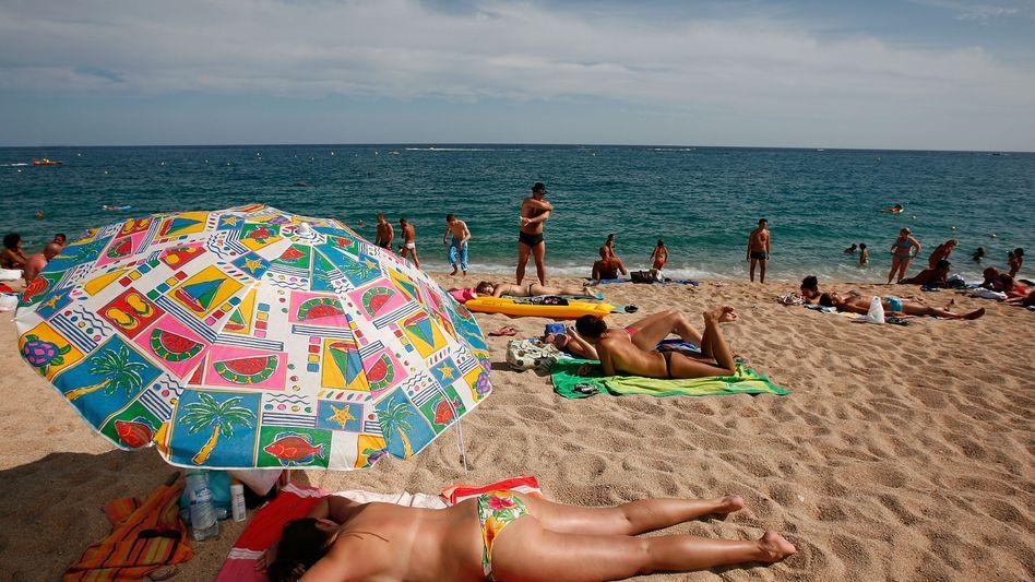 Risikogebiet: Urlauber an der Costa Brava.