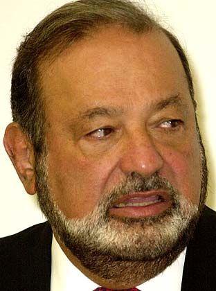 Auf Platz vier: Der Mexikaner Carlos Slim Helu mit 23,8 Milliarden Dollar