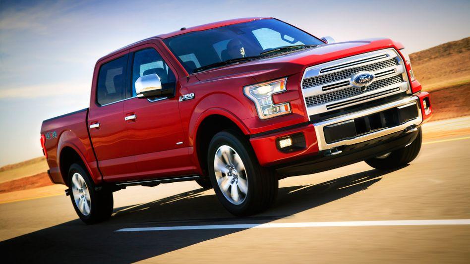 """Amerikanische Ikone: Auch Trucks wie Fords F-150 werden deutlich effizienter und verbrauchen """"nur"""" noch um die zehn Liter auf 100 Kilometern"""