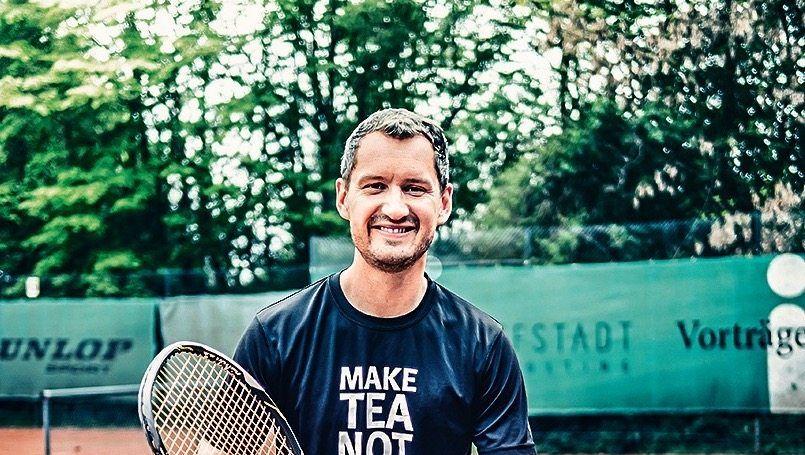Jonathan Gschwendner (36) liebt Tennis