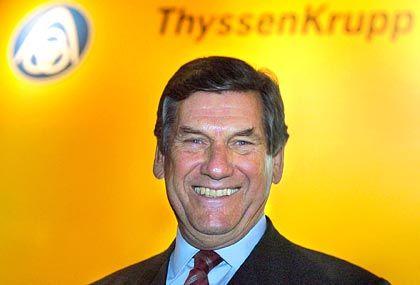 Ekkehard Schulz: Thyssen-Chef verkündet glänzende Zahlen - und bangt um das Geschäft mit den USA