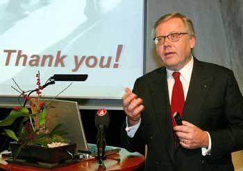"Spitzname ""Mr. Bonus"": Der frühere Skandia-Chef Lars-Eric Petersson"
