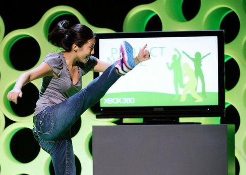 "Microsoft nimmt Schwung: Demonstration des ""Natal""-Projekts"