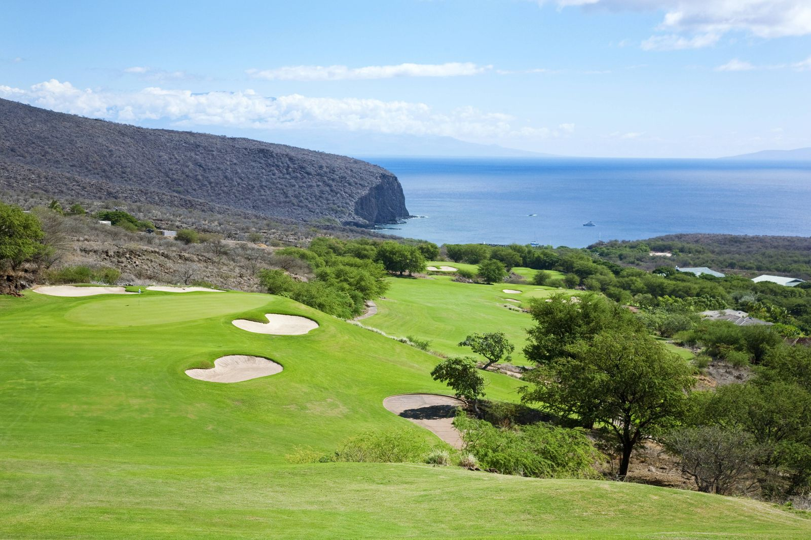 Hawaii Lanai The Challenge At Manele Golf Course PUBLICATIONxINxGERxSUIxAUTxONLY Copyright RonxD