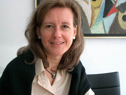 Vermittelt zwischen Künstlern und Wirtschaft: Susanne Litzel, Geschäftsführerin des Kulturkreises im BDI