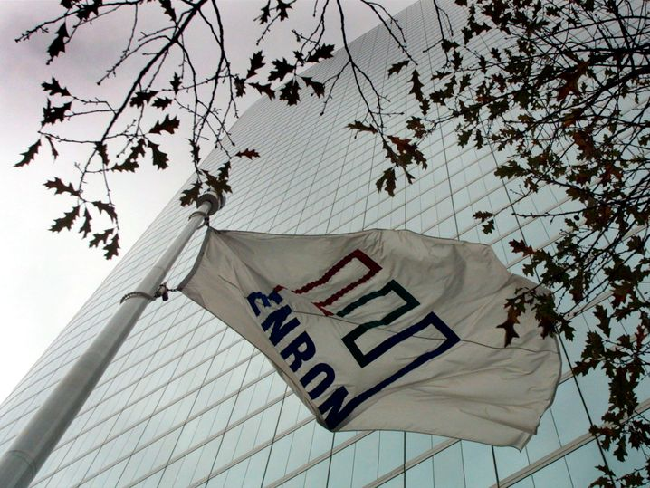 Enron legte die zeitweise die größte Firmenpleite der US-Geschichte hin