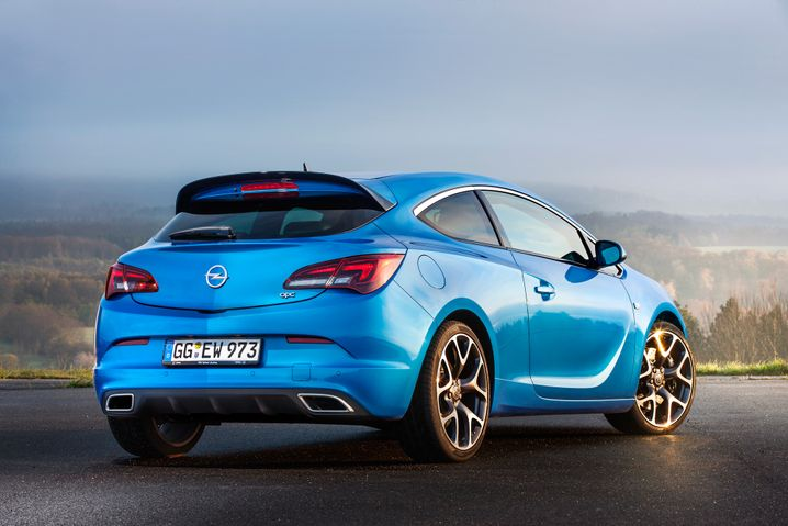 Opel Astra in sportlicher OPC-Ausführung