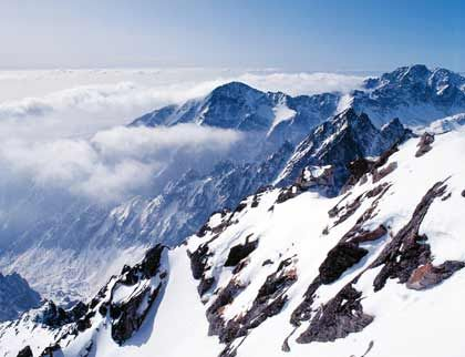 Das kleinstes Hochgebirge der Welt: Die Hohe Tatra verfügt über immerhin 26 Zweitausender