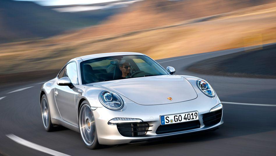 Porsche 911: Die Neuauflage der Sportwagenikone wird Porsche auf der IAA viel Aufmerksamkeit bescheren - und von den Fusionsproblemen ablenken