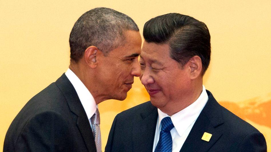 US-Präsident Obama und Chinas Staats- und Parteichef Xi Jinping: Zölle für IT-Exporte im Wert von einer Billion Dollar sollen fallen