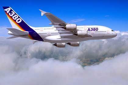 """Airbus A 380: """"Wir liegen im Plan"""""""