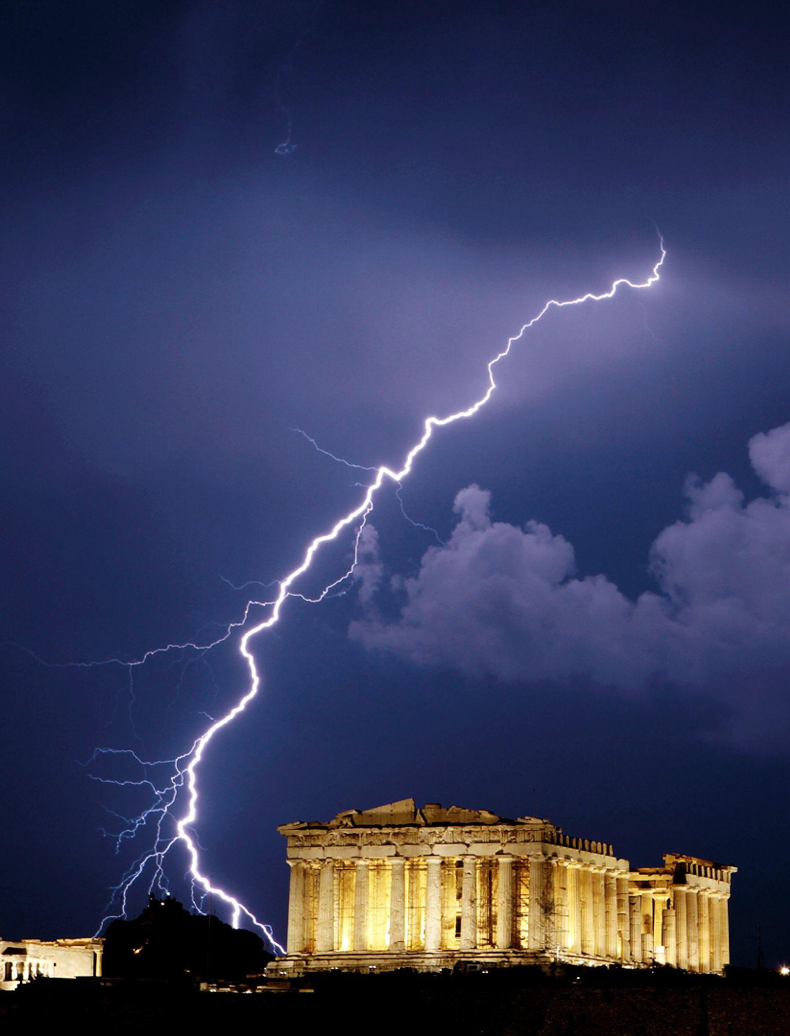 NICHT VERWENDEN Griechenland/ Akropolis/ Finanzkrise