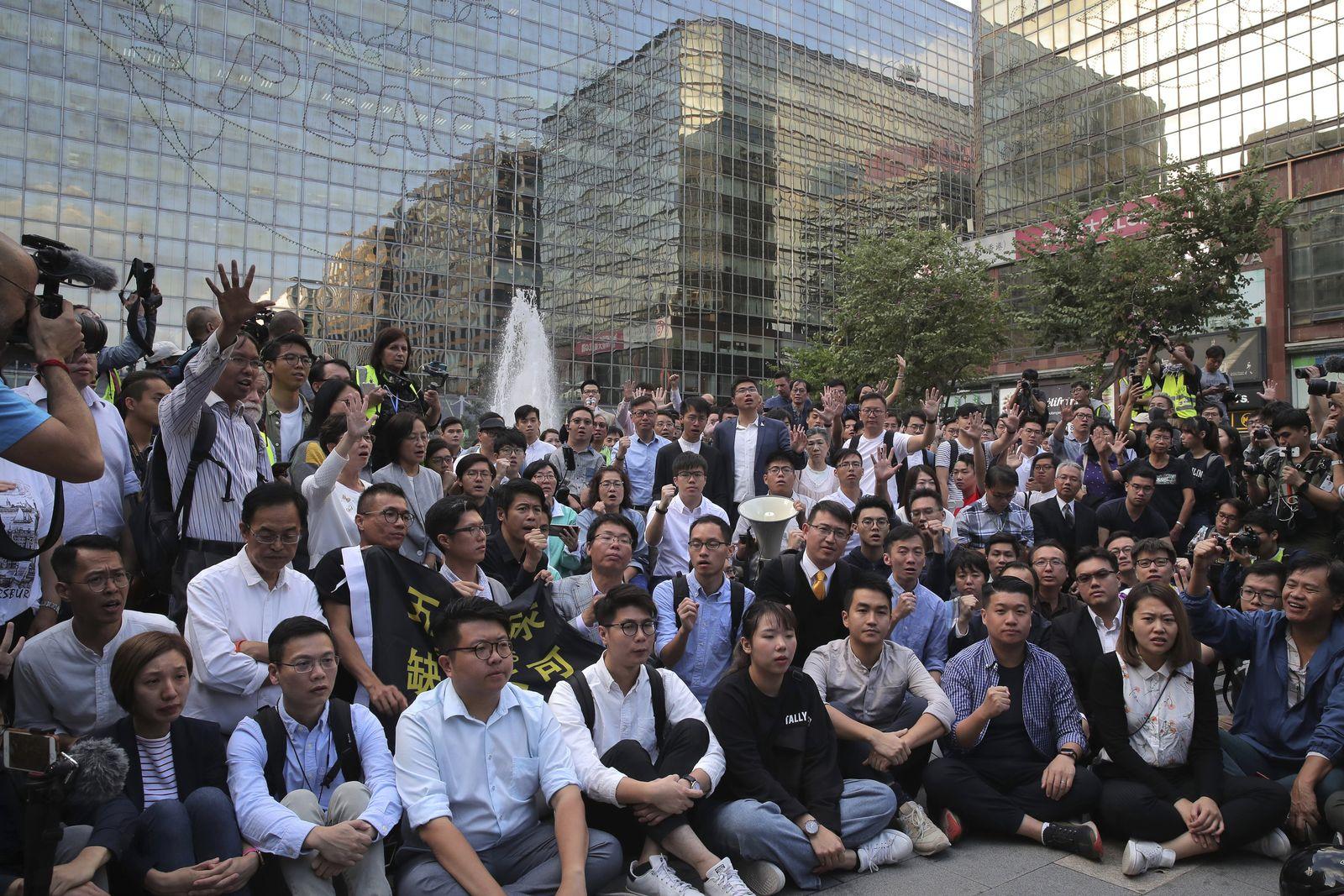 Wahlen in Hongkong